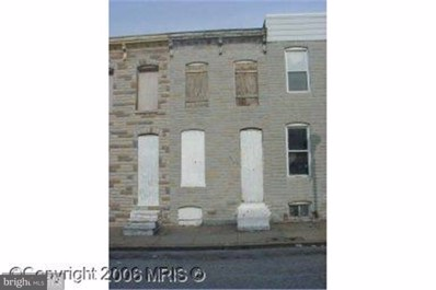 2114 Vine Street, Baltimore, MD 21223 - MLS#: 1000983131