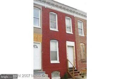 1924 Wilhelm Street, Baltimore, MD 21223 - MLS#: 1000983395