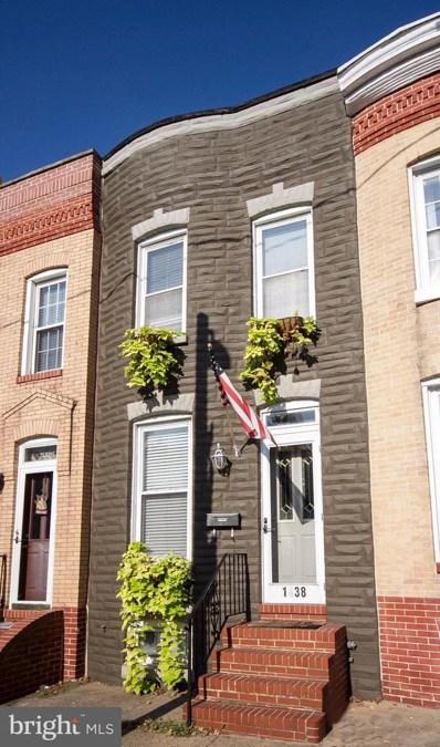 1438 Decatur Street, Baltimore, MD 21230 - MLS#: 1000983457