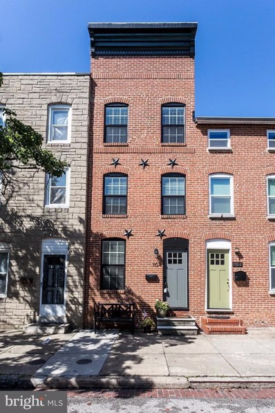 1104 Battery Avenue, Baltimore, MD 21230 - MLS#: 1000983527