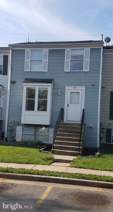 537 Riggs Court, Frederick, MD 21703 - MLS#: 1000999751