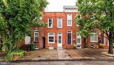 322 Collington Avenue, Baltimore, MD 21231 - MLS#: 1001173310