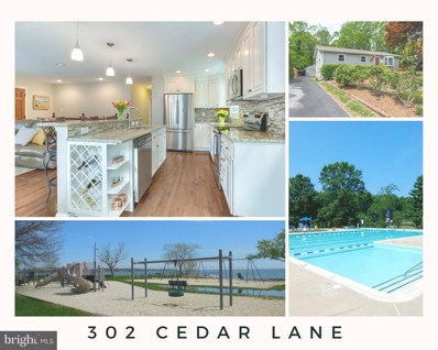 302 Cedar Lane, Annapolis, MD 21403 - MLS#: 1001176372