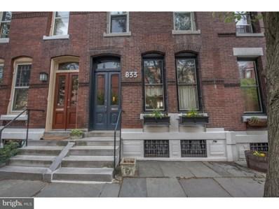 833 N Woodstock Street, Philadelphia, PA 19130 - MLS#: 1001182736