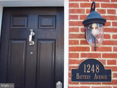 1248 Battery Avenue, Baltimore, MD 21230 - MLS#: 1001183922