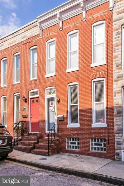 410 Clement Street E, Baltimore, MD 21230 - MLS#: 1001369666