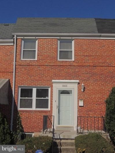 5418 Masefield Road, Baltimore, MD 21229 - MLS#: 1001410023