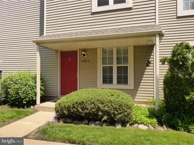1407A Yarmouth Lane, Mount Laurel, NJ 08054 - MLS#: 1001412522