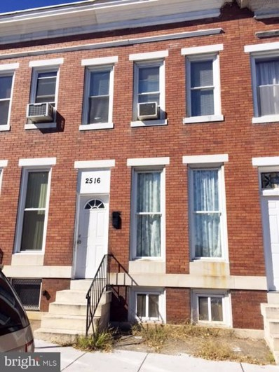 2516 Ashton Street, Baltimore, MD 21223 - MLS#: 1001417491