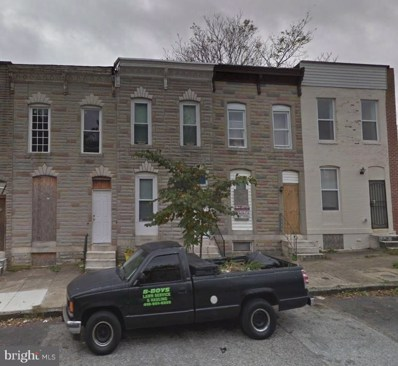 1627 Oliver Street E, Baltimore, MD 21213 - MLS#: 1001462636