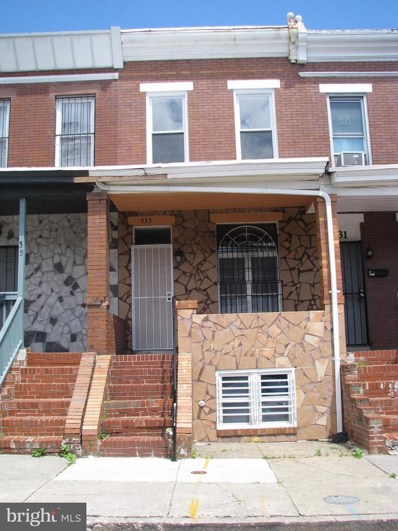 533 Curley Street, Baltimore, MD 21205 - #: 1001485646