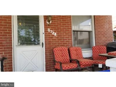 5738 VanDike Street, Philadelphia, PA 19135 - #: 1001488934
