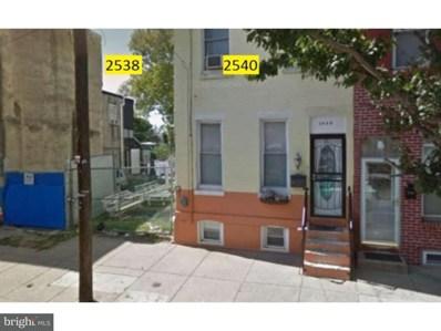 2538 N Mascher Street, Philadelphia, PA 19133 - MLS#: 1001490340