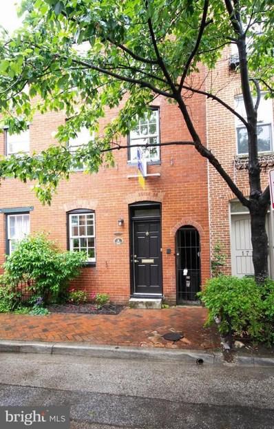 1723 Lancaster Street, Baltimore, MD 21231 - MLS#: 1001491616