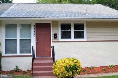 7736 Bender Road, Landover, MD 20785 - MLS#: 1001510788