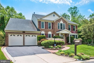 6607 English Saddle Court, Centreville, VA 20121 - #: 1001529042