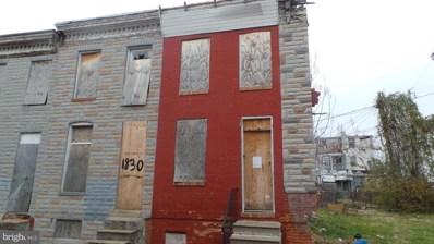 1828 Wilhelm Street, Baltimore, MD 21223 - #: 1001530194