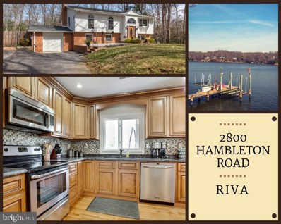2800 Hambleton Road, Riva, MD 21140 - MLS#: 1001533696