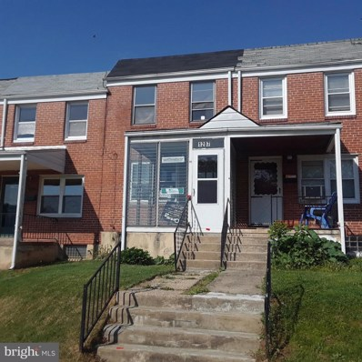 1207 Haverhill Road, Baltimore, MD 21229 - MLS#: 1001536134