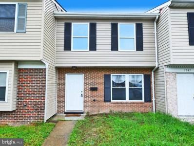 1549 Charlestown Drive, Edgewood, MD 21040 - MLS#: 1001546626