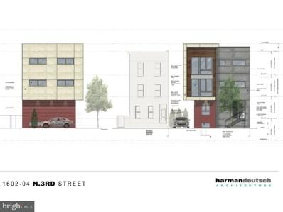 1602 N 3RD Street, Philadelphia, PA 19122 - MLS#: 1001549008