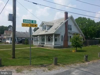 9805 Savage Road, Ocean City, MD 21842 - MLS#: 1001563284