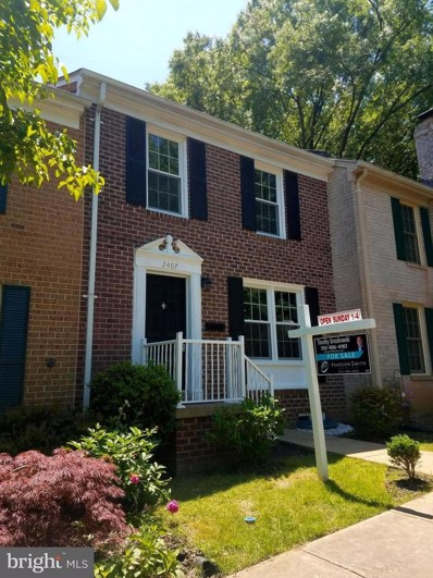 2407 Ansdel Court, Reston, VA 20191 - MLS#: 1001612282