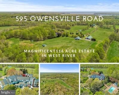 595 Owensville Road, West River, MD 20778 - #: 1001626740