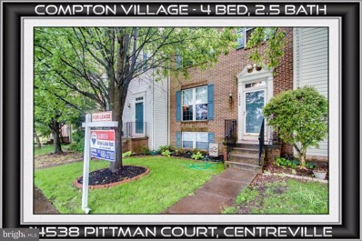 14538 Pittman Court, Centreville, VA 20121 - MLS#: 1001626988