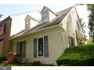 807 Pritchet Court, Chester Springs, PA 19425 - MLS#: 1001631264