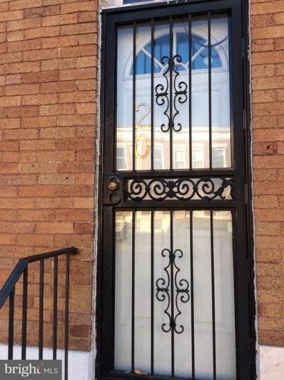 20 Bentalou Street N, Baltimore, MD 21223 - MLS#: 1001648291