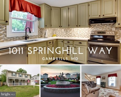 1011 Springhill Way, Gambrills, MD 21054 - MLS#: 1001649484