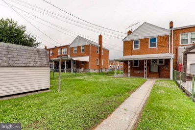 7521 Lawrence Road, Baltimore, MD 21222 - MLS#: 1001650128