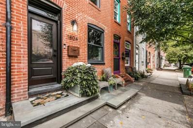 1804 Gough Street, Baltimore, MD 21231 - MLS#: 1001650455