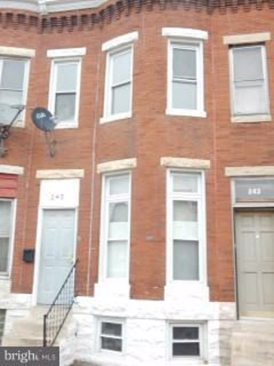 245 Luzerne Avenue N, Baltimore, MD 21224 - #: 1001651344