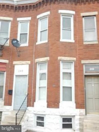 245 Luzerne Avenue N, Baltimore, MD 21224 - #: 1001651344