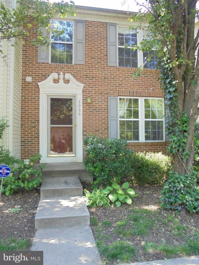 5966 Edgehill Court, Alexandria, VA 22303 - MLS#: 1001655941