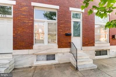 442 Linwood Avenue, Baltimore, MD 21224 - MLS#: 1001658126