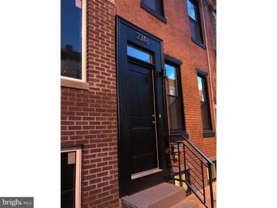 2316 E Harold Street, Philadelphia, PA 19125 - MLS#: 1001670946