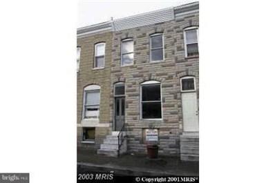 620 Glover Street, Baltimore, MD 21205 - MLS#: 1001733544