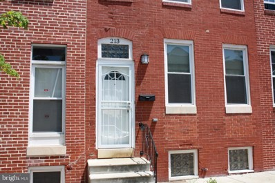 213 Gilmor Street, Baltimore, MD 21223 - #: 1001746228