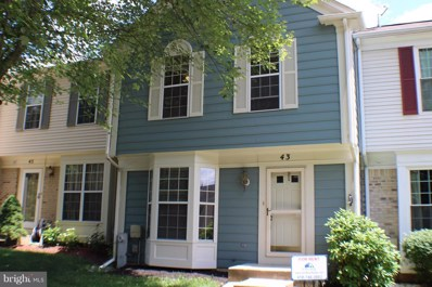 43 Windbluff Court, Owings Mills, MD 21117 - MLS#: 1001746258