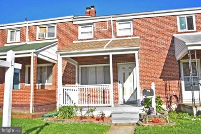 2027 Holborn Road, Baltimore, MD 21222 - MLS#: 1001759640