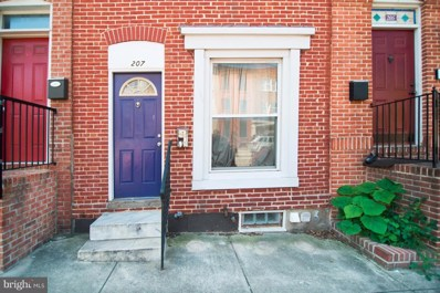 207 East Fort Avenue, Baltimore, MD 21230 - MLS#: 1001760236