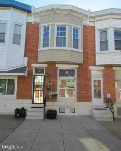 420 Macon Street, Baltimore, MD 21224 - #: 1001765096
