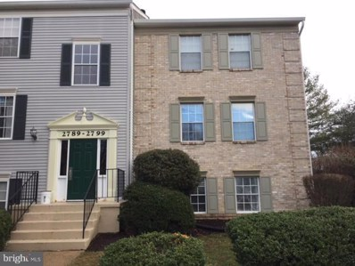 2799 Bordeaux Place UNIT 24B18, Woodbridge, VA 22192 - MLS#: 1001767560