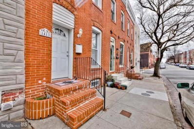 1413 Covington Street, Baltimore, MD 21230 - #: 1001768136