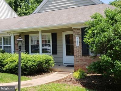 720 Ripplebrook Drive, Culpeper, VA 22701 - MLS#: 1001771208
