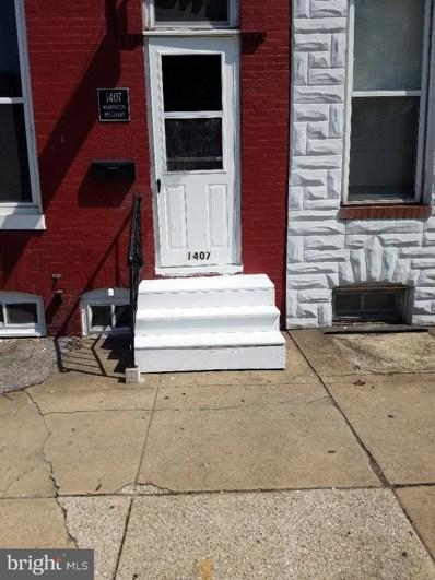 1407 Washington Boulevard, Baltimore, MD 21230 - MLS#: 1001780178