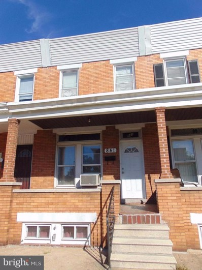 841 Linwood Avenue, Baltimore, MD 21205 - #: 1001788549